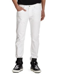 Ag Jeans Matchbox Slim Straight Leg Jeans White