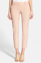 Women's Theory 'Testra 2B' Stretch Wool Pants Cameo