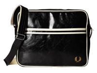 Fred Perry Classic Shoulder Bag Black Messenger Bags