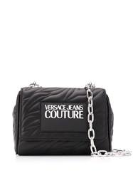 Versace Jeans Couture Faux Leather Logo Patch Quilted Bag 60