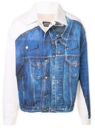 Andrea Crews Jacket Print Denim Jacket 60
