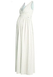 Bellybutton Maxi Dress Light Green Offwhite
