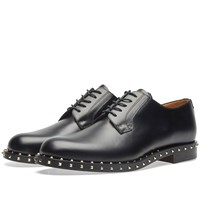 Valentino Stud Sole Derby Black
