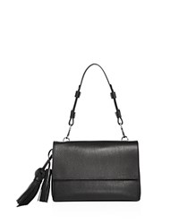Max Mara Leather Shoulder Bag Black