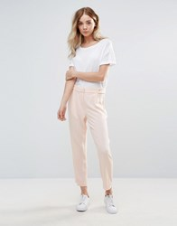 Vero Moda Tailored Trousers Pale Blush Pink