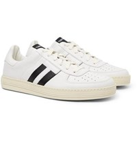 Tom Ford Radcliffe Leather Sneakers White