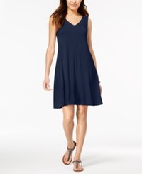 Styleandco. Style Co Petite Cross Back Swing Dress Created For Macy's Ink