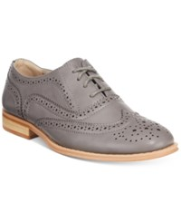 Wanted Babe Lace Up Oxfords Women's Shoes Grey