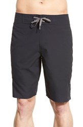 Men's Under Armour 'Mania Ua Storm' Water Repellent Board Shorts Black Granite