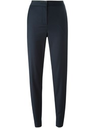 Rag And Bone High Waisted Tapered Trousers Blue
