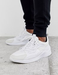 Creative Recreation Fashion Knit Trainer In White
