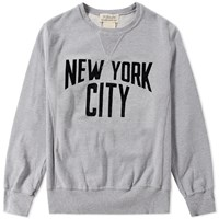 Remi Relief New York City Crew Sweat Grey