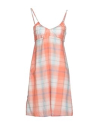 Timeout Short Dresses Salmon Pink