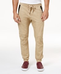 Ring Of Fire Men's Stretch Jogger Pants Created For Macy's Green Camo