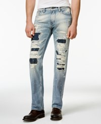 Guess Straight Fit Destroyed Jeans