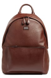 Ted Baker Men's London Leather Backpack Brown Tan