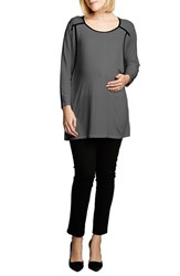 Women's Maternal America Long Sleeve Nursing Top