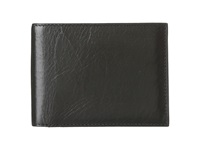 Bosca Old Leather Continental I.D. Wallet Black Wallet Handbags