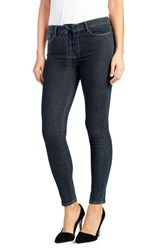 Paige Women's Hoxton Lace Up Ankle Ultra Skinny Jeans