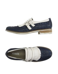 Khrio' Footwear Moccasins Women Dark Blue
