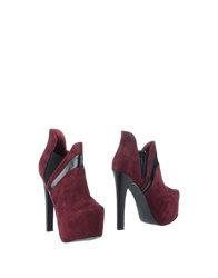 Sugarfree Shoes Footwear Shoe Boots Women Maroon