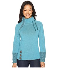 Prana Lucia Sweater Harbor Blue Women's Sweater