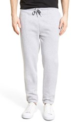 Men's Lacoste 'Sport' Tapered Sweatpants Silver Chine