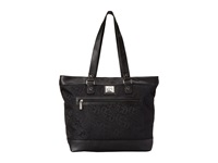 Kenneth Cole Reaction Copy That Shoppers Tote Black Tote Handbags