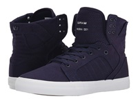 Supra Skytop D Navy Canvas Men's Skate Shoes Blue
