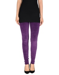 Met Leggings Purple