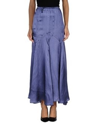Gotha Long Skirts Blue