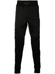 Philipp Plein Logo Stripe Track Trousers Black