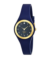 Kate Spade Ladies Rumsey Goldtone And Indigo Watch Navy