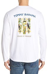 Men's Big And Tall Tommy Bahama 'Boards Of Paradise' Graphic Long Sleeve Crewneck T Shirt