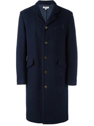 Opening Ceremony Single Breasted Coat Blue