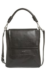 Matt And Nat 'Riley' Faux Leather Crossbody Bag Black