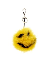 Fendi Smiley Fox Fur Bag Charm