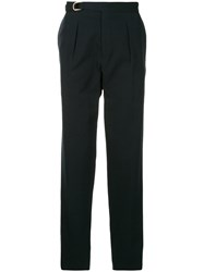 Tomorrowland Belted Tapered Trousers Black