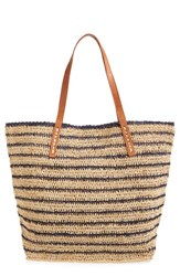Mar Y Sol 'Monaco' Packable Raffia Tote