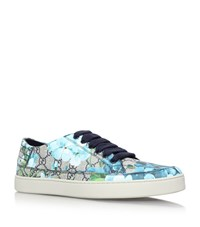 Gucci Blossom Skater Shoes Male Blue