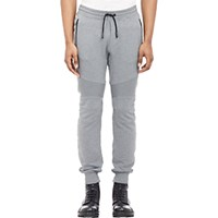 Belstaff Men's Ashdown Moto Sweatpants Grey Light Grey Grey Light Grey