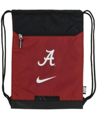 Nike Alabama Crimson Tide Drawstring Bag Team Color