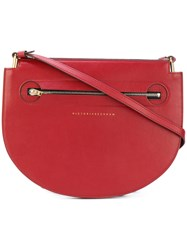 Victoria Beckham Cross Body Bag Women Calf Leather Polyamide Polyurethane One Size Red