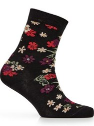 Paul Smith Ps By Floral Sock Multicolour