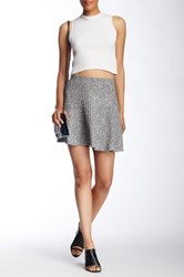 Fire Skater Skirt Gray
