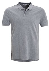 Ck Calvin Klein Pete Fitted Polo Shirt Grey