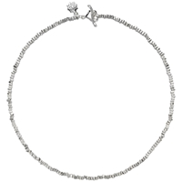 Dower And Hall Sterling Silver Kube Necklace