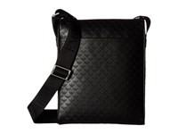 Emporio Armani Quilted Port Bag Black Messenger Bags
