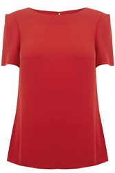 Oasis Formal T Shirt Red