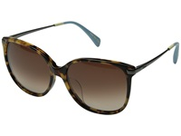 Toms Sandela 201 Blonde Tortoise Fashion Sunglasses Brown